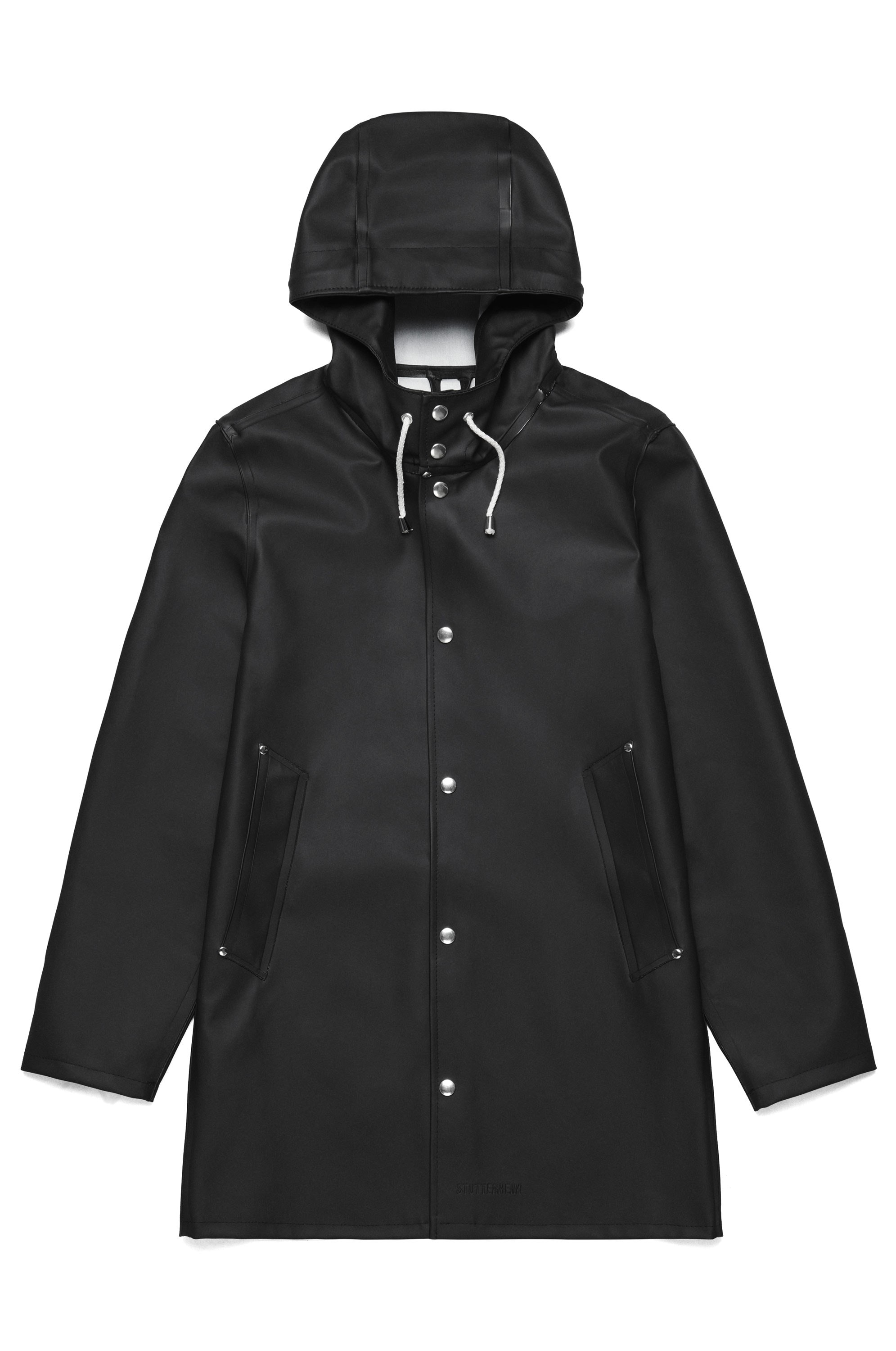 Stutterheim Stockholm Black Raincoat – Stutterheim Raincoats