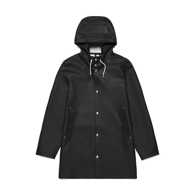 Stutterheim Stockholm Black Raincoat – Stutterheim Raincoats