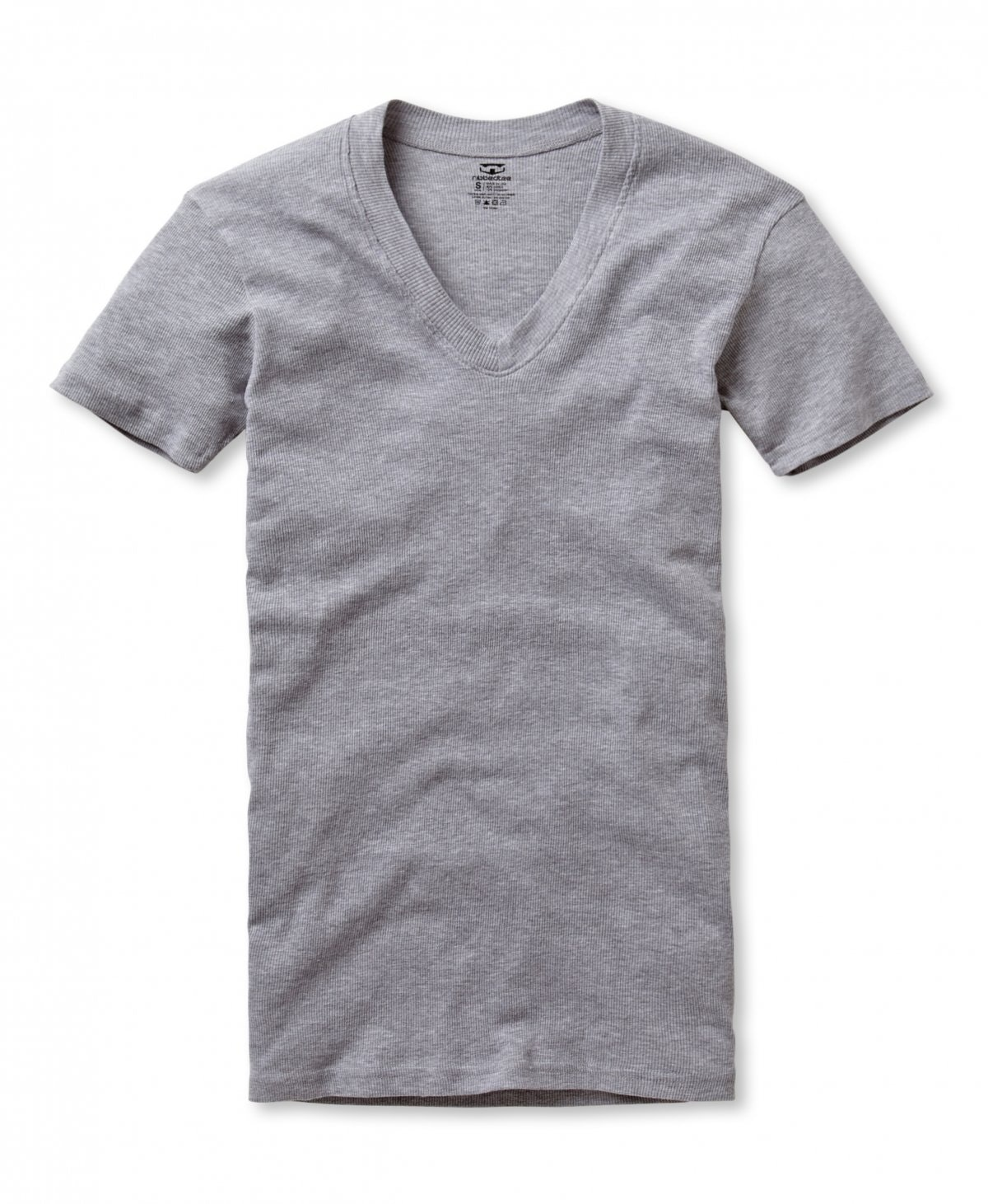 Men's V-Neck Undershirts | Classic Fit | 2-Pack | RibbedTee