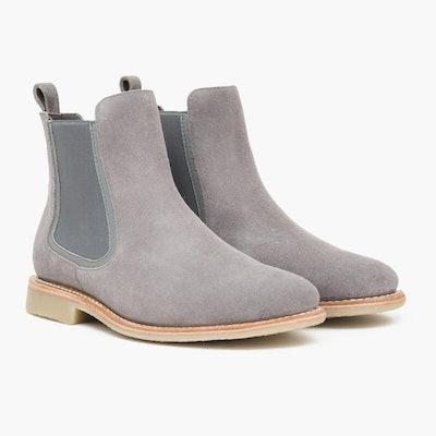 Men's Grey Suede Duke Chelsea Boot | Thursday Boot Company