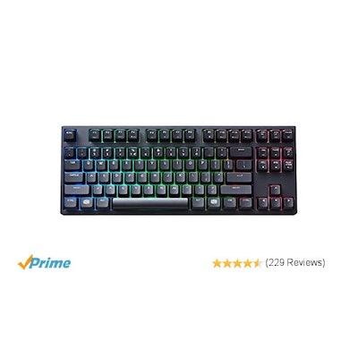Amazon.com: Cooler Master MasterKeys Pro S RGB Mechanical Gaming Keyboard, Cherr