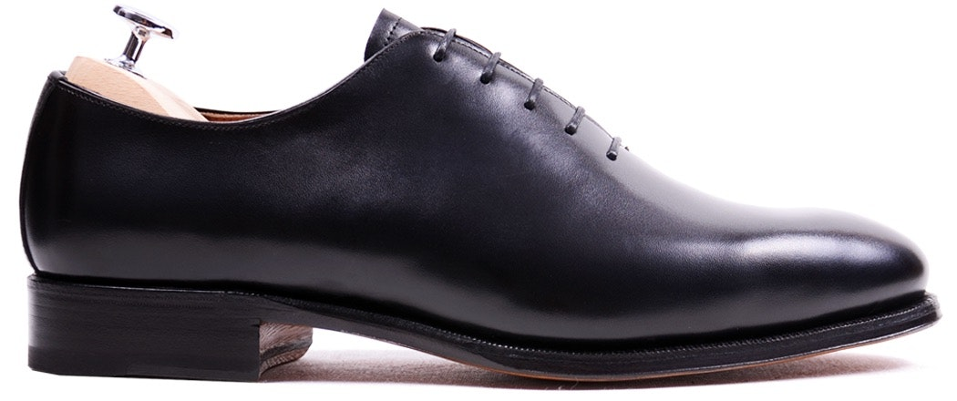 Meermin Black Oxford Wholecut