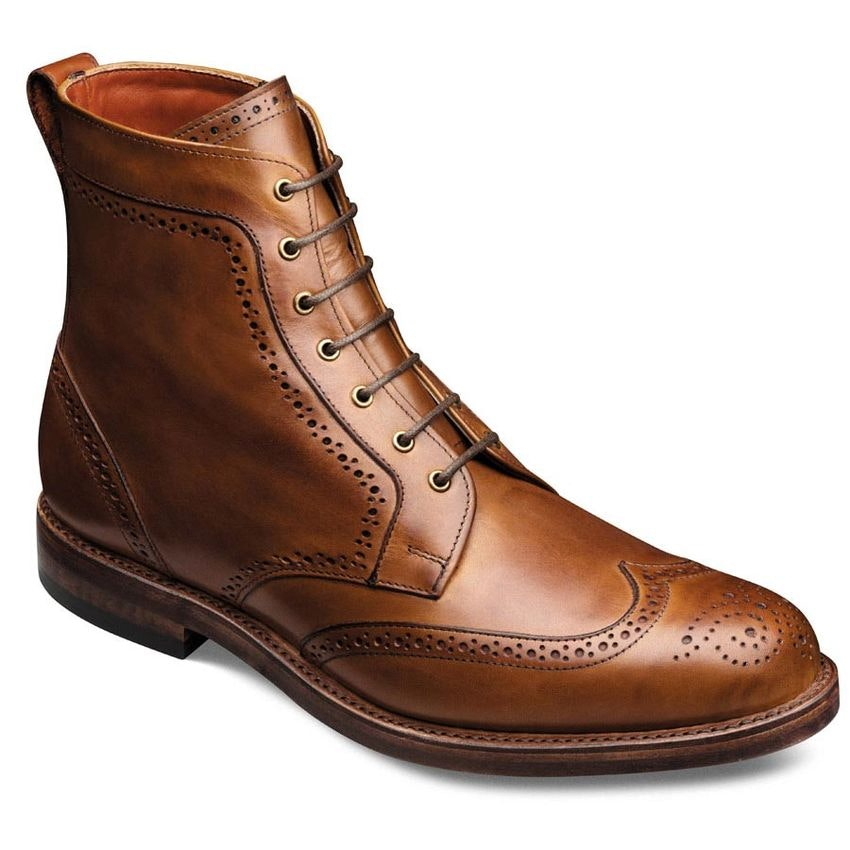 Dalton - Wingtip Lace-up Oxford Men's Dress Boots by Allen Edmonds