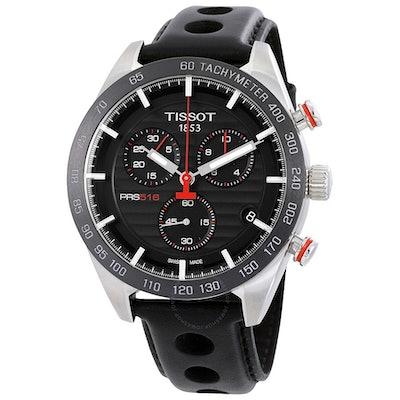 TISSOT PRS 516 Chronograph Black Dial Men's Watch