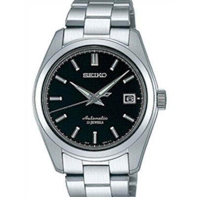 Seiko Black Dial Automatic Dress Watch with 38mm Case, and Sapphire Crystal  #SA
