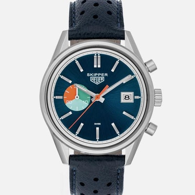 The TAG Heuer Limited Edition Carrera Skipper For HODINKEE