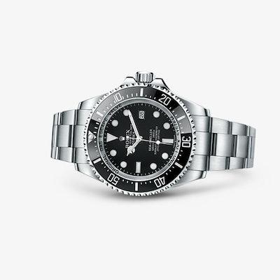 Rolex Deepsea Watch: 904L steel, case back in grade 5 titanium - 116660