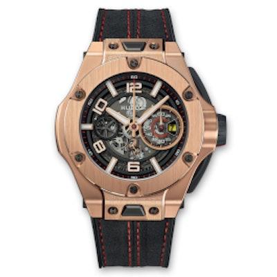 Big Bang Ferrari Chronograph Unico King Gold 45mm