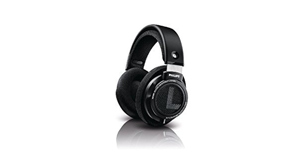 Philips SHP9500/00 Negro Circumaural Diadema auricular - Auriculares (Circumaura