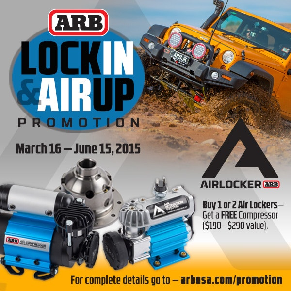 ARB 4x4 Accessories - Winch Bumpers, Tire Carriers, Air Locker, Air Compresso