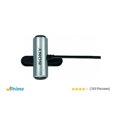Amazon.com: Sony ECMCS3 Clip style Omnidirectional Stereo Microphone: Musical In