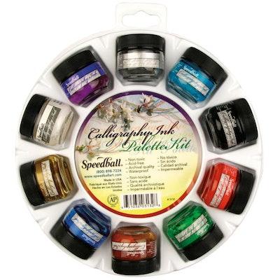 Speedball® Calligraphy Ink Palette Kit