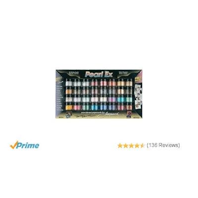 Jacquard Pearl EX Powder Pigments (32-Color Set)
