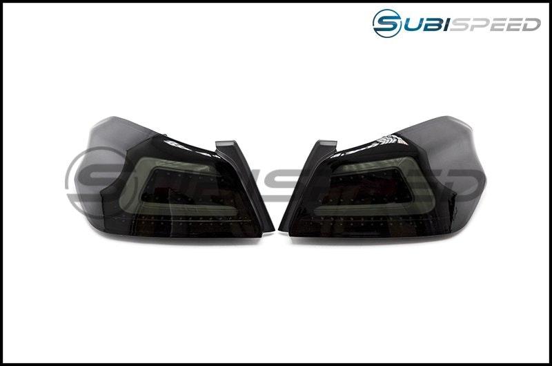 SubiSpeed USDM TR Style Sequential Tail Lights - 2015+ WRX / 2015+ STI - Lightin