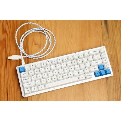 The WhiteFox Mechanical Keyboard - Input Club