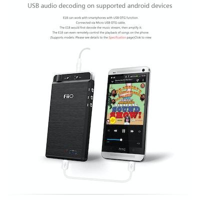 FiiO E18-Born for Music and Happy