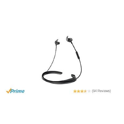 Bose Quietcontrol 30 Wireless Headphones, Noise Cancelling - Black:
