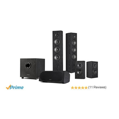 Pioneer SP-PK52FS Andrew Jones 5.1 Home Theater Speaker Package: Ele