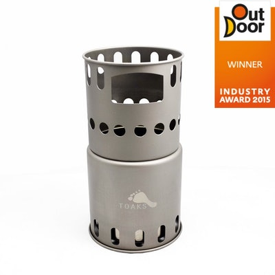 TOAKS Titanium Backpacking Wood Burning Stove – TOAKS OUTDOOR
