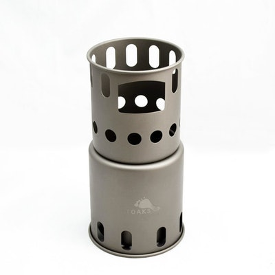 TOAKS Titanium Backpacking Wood Burning Stove (small) – TOAKS OUTDOOR