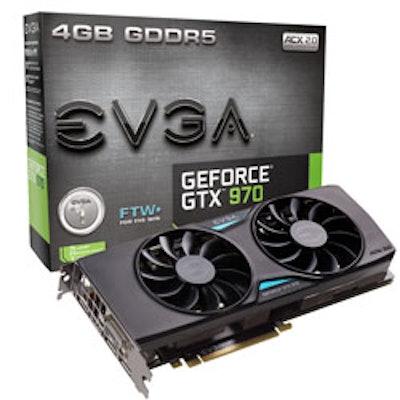 EVGA GeForce GTX 970 FTW+ ACX 2.0+