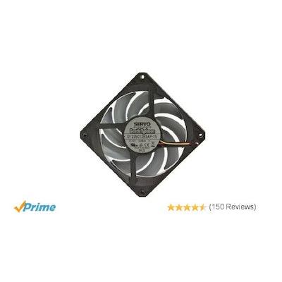 Amazon.com: Nidec Servo Gentle Typhoon D1225C12B5AP 120mm 1850 rpm Silent Case F