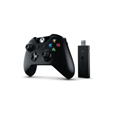 Xbox One Controller + Wireless Adapter for Windows | Microsoft Accessories