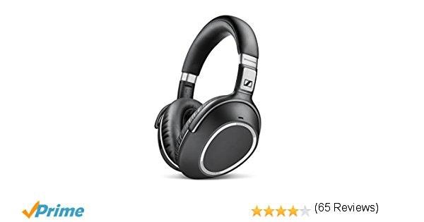 Sennheiser PXC 550 Wireless – NoiseGard Adaptive Noise Cancelling, Bluetooth Hea