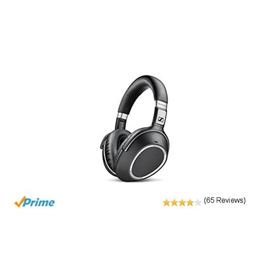 Sennheiser PXC 550 Wireless – NoiseGard Adaptive Noise Cancelling, Bluetooth Hea