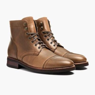 Natural Horween Captain Boot | Thursday Boot Company                     Ar