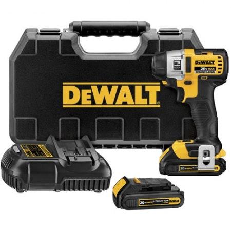 DEWALT 20-Volt 1/4-in Drive Cordless Impact Driver (1.5AH)