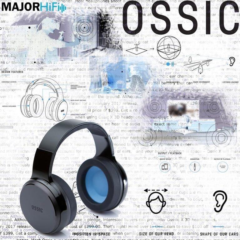 OSSIC – Immersive 3D Audio