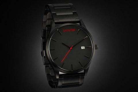 Black / Black Watch                          MVMT Watches