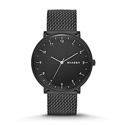 Skagen Hald Heavy Gauge Steel Mesh Watch