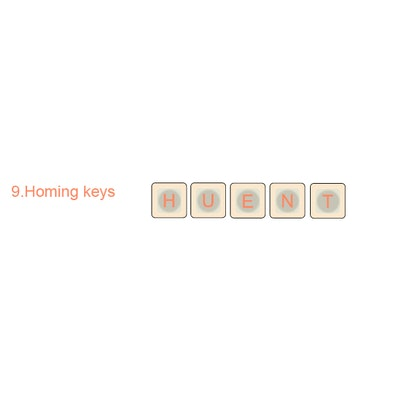 9.  Homing Keys