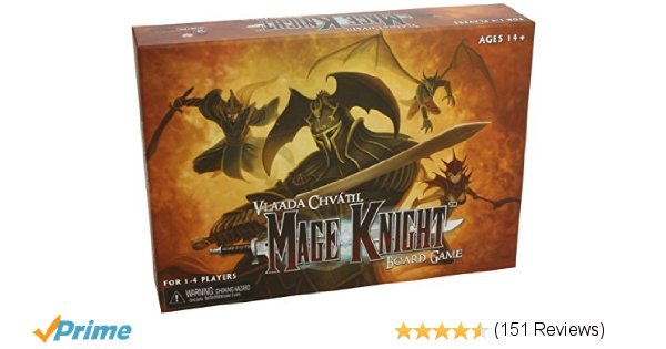 Amazon.com: Mage Knight Board Game: Toys & Games