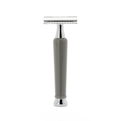 Muhle Safety Razor – 70th Anniversary Closed Comb – Grey