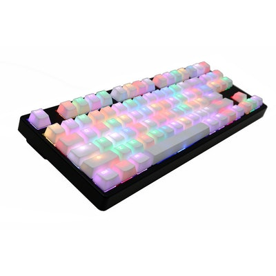 MK Disco TKL White PBT RGB Backlit