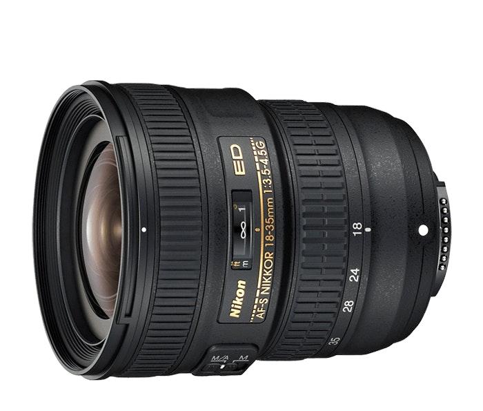 AF-S NIKKOR 18-35mm f/3.5-4.5G ED | NIKKOR D-SLR interchangeable lens from Nikon