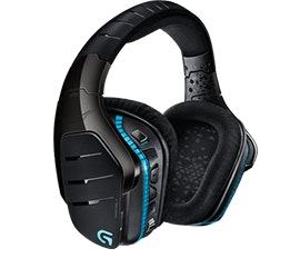Logitech G933 Artiemis Spectrum wireless 7.1 surround sound gaming headset