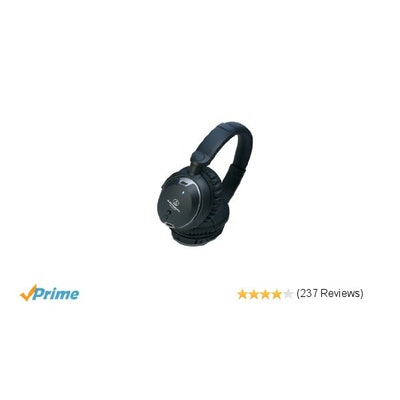 Amazon.com: Audio Technica ATH-ANC9 QuietPoint Noise-Cancelling Headphones: Elec
