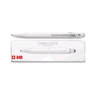 Ballpoint pen 849 PopLine White, with holder