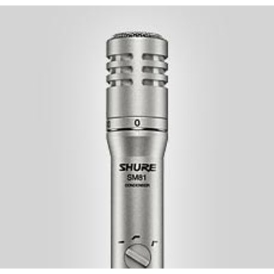 SM81 Instrument Microphone | Shure Americas