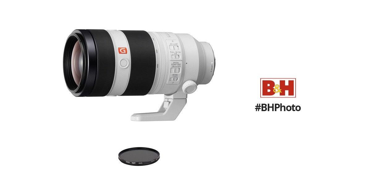 Sony FE 100-400mm f/4.5-5.6 GM OSS Lens with Circular Polarizer