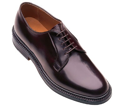 Alden Cordovan Plain Toe Blucher Oxford
