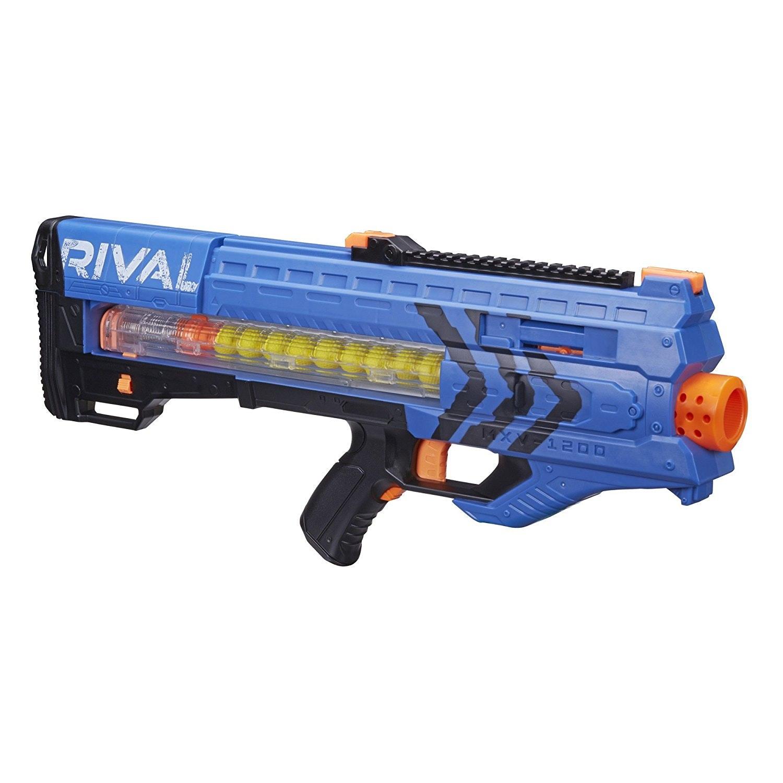 Nerf Rival Zeus MXV-1200 Blaster (Blue) | Toys for Boys | Nerf Rival