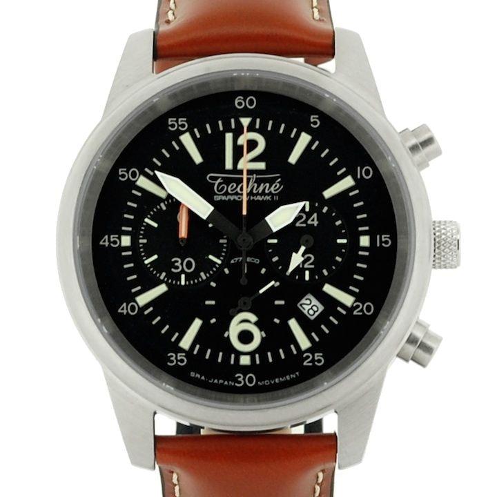Techné Watches                          - SparrowHawk II 477 steel