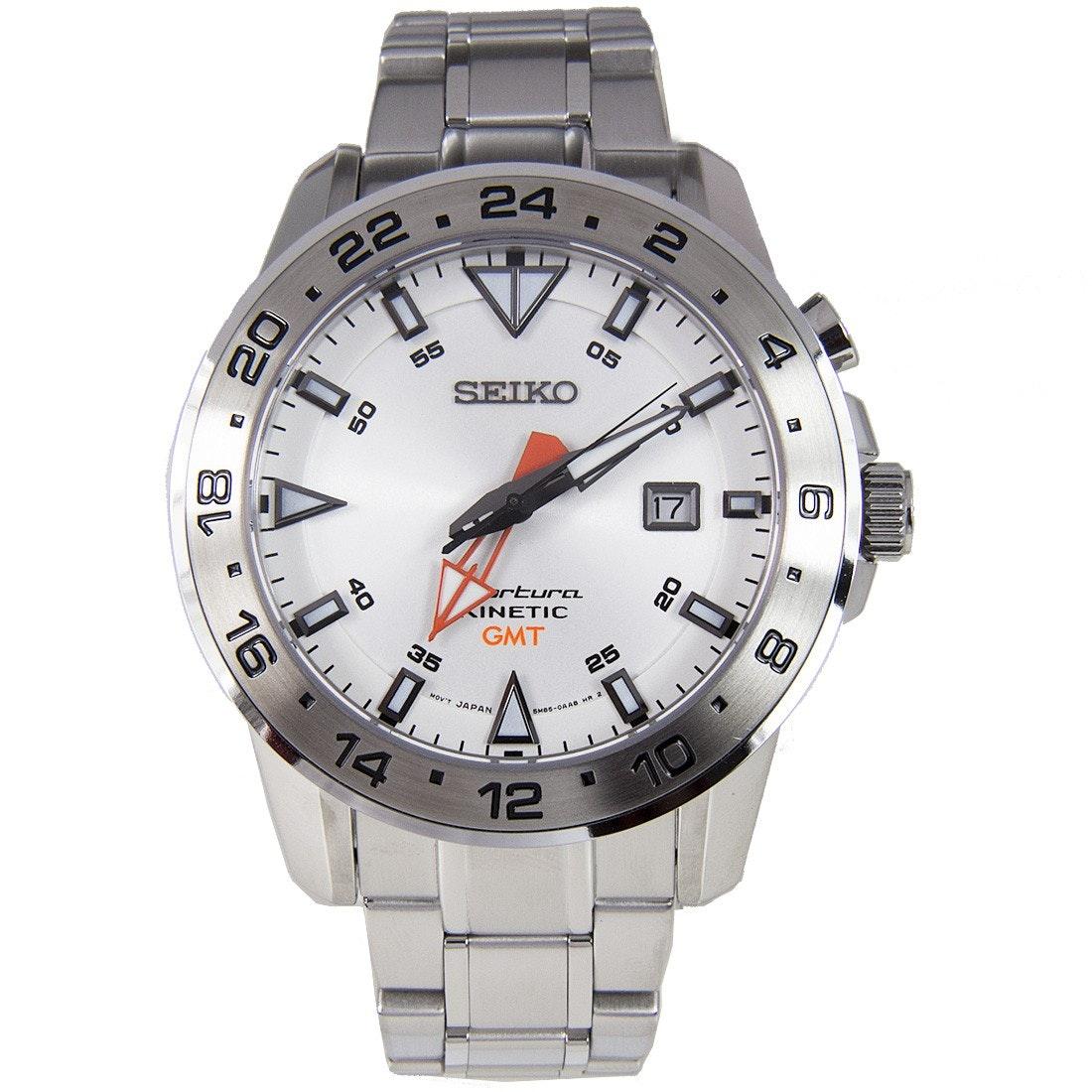 Seiko Sportura Kinetic GMT Watch SUN025P1 SUN025P