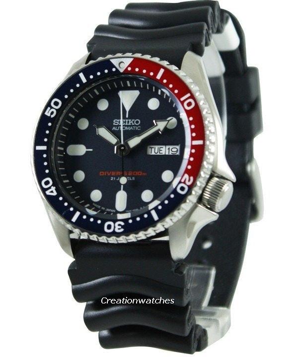Seiko Automatic Diver's 200m Made in Japan SKX009 SKX009J1 SKX009J Men's Watch