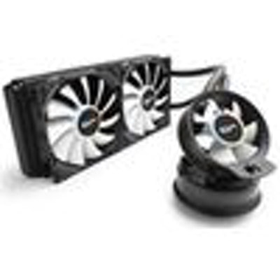 CRYORIG A80 Hybrid Liquid Cooler 280mm Radiator with additional Aifrlow fan - Ne